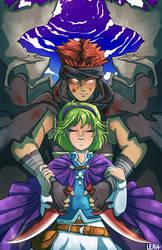 Nino and Jaffar - Black Guardian Angel