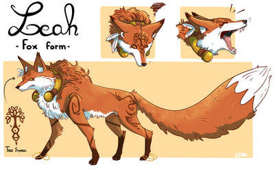 Leah - fox form (New design)