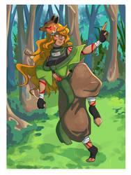 Ninja fox gurl