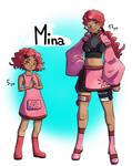 MINA - ninja OC by LeahFoxDen
