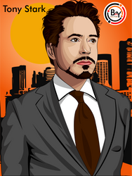 Tony Stark by Baysichi