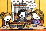 I Invited Jughead Over For Breakfast