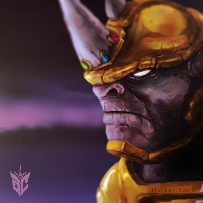 [WIP] Rhino X Thanos by DonBranZ