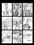 And Another 99 Sketch Card Collection 5 Page 7