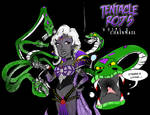 Tentacle Rod's Whips and Chainmail Dark Elf
