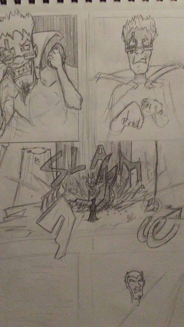 The Comic Rough Comic pg11 by editorblue