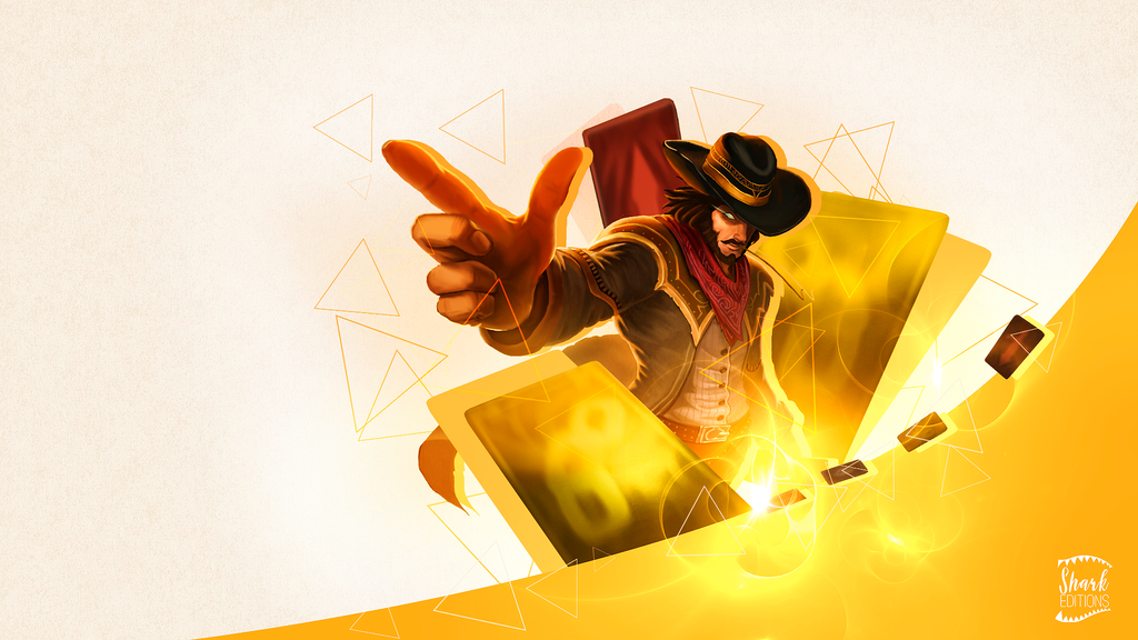 Twisted Fate Wallpaper League Of Legends By LeftLucy