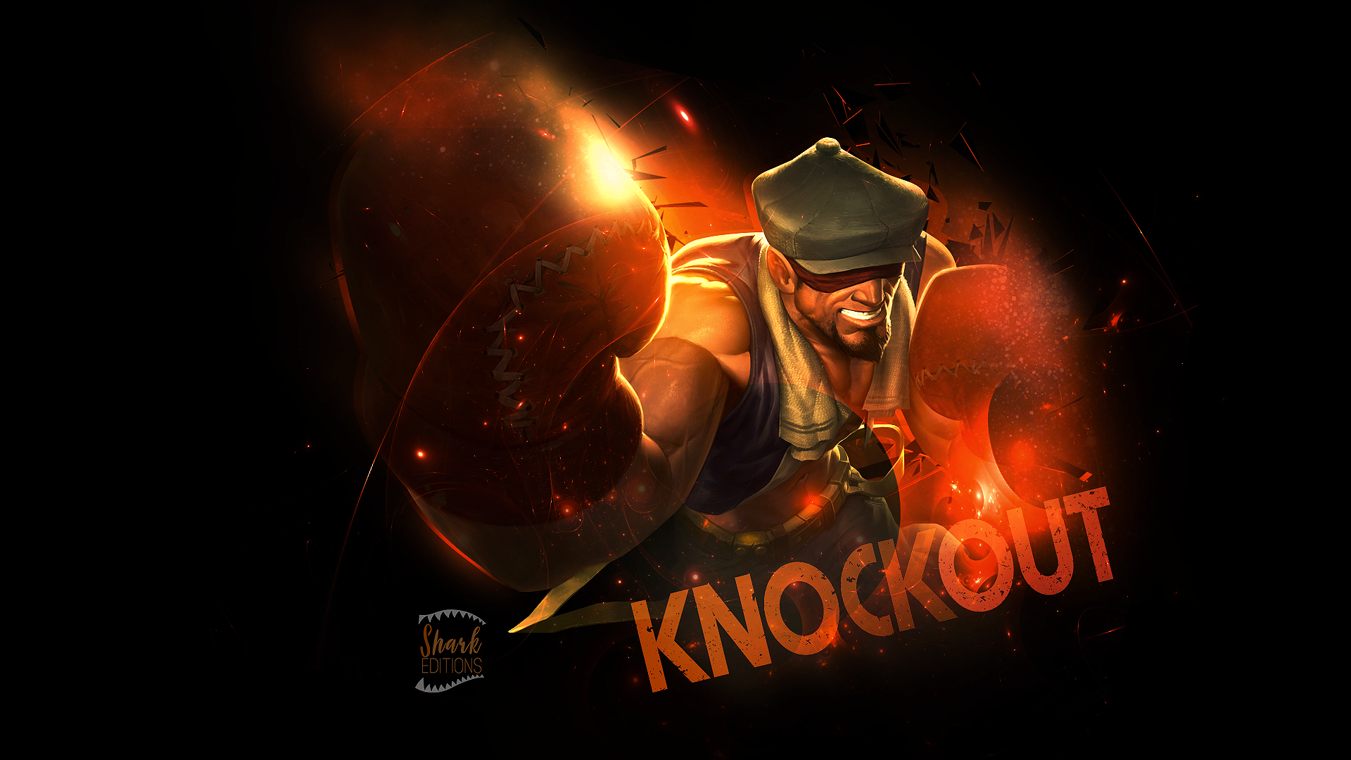 knockout lee sin wallpaper league of legends by leftlucy