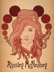 Octopus Hat by ZackSmithArt
