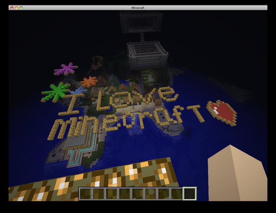 I love minecraft by bee-cute on DeviantArt
