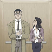 Clark Kent by FieryStampede