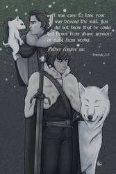 Jon Snow by FieryStampede