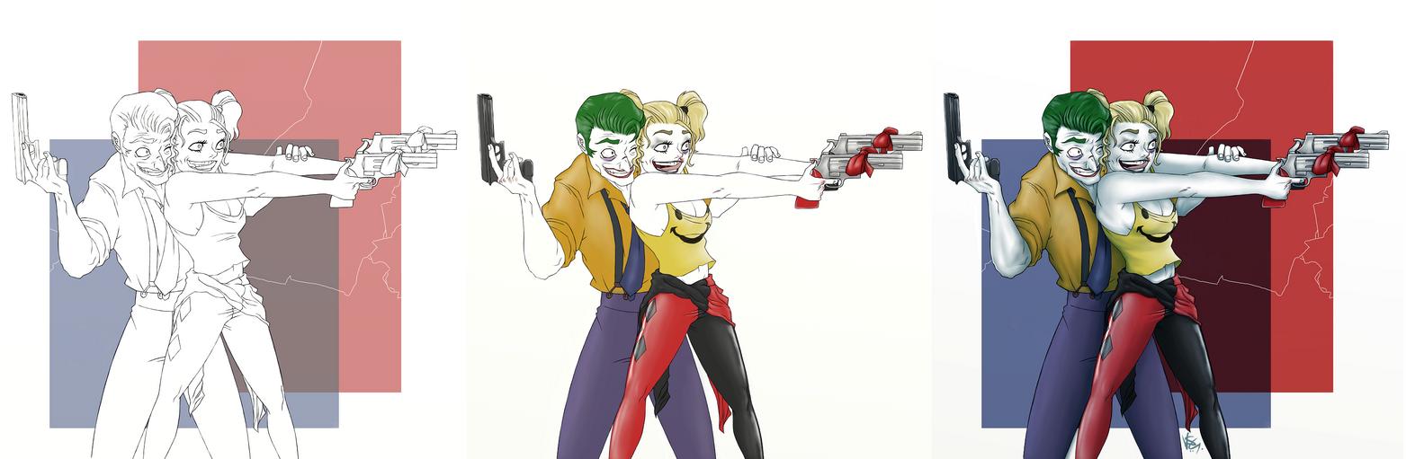 Joker Harley by FieryStampede