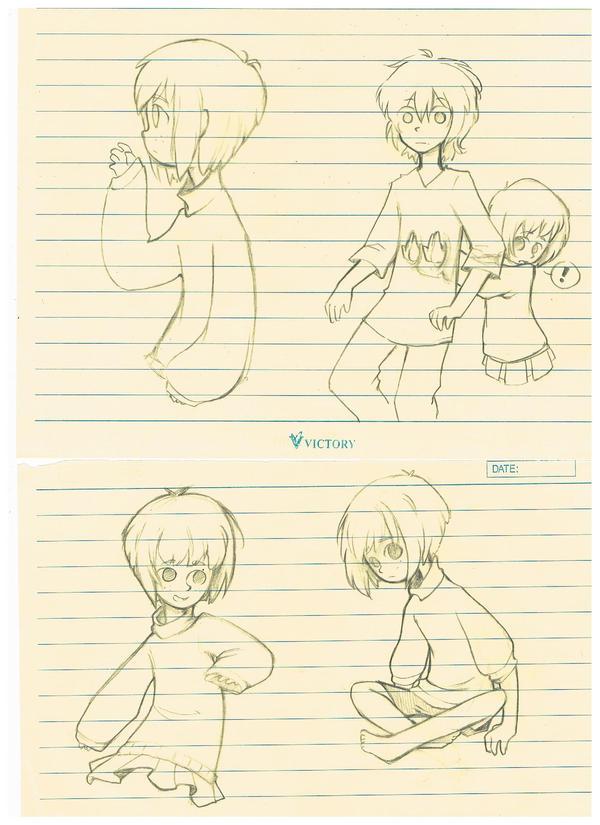 Clove and Jasper doodles by Cappuchi