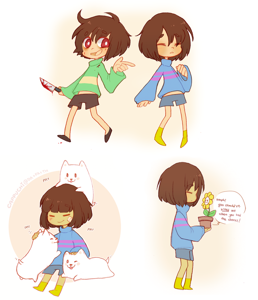 Undertale goodies by Cappuchi
