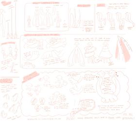 08-24-16: bookling visual lore sheet by Cappuchi