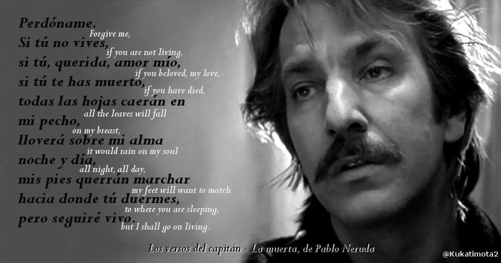Alan Rickman - Truly Madly Deeply poem