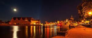 Baltic Symphony at night