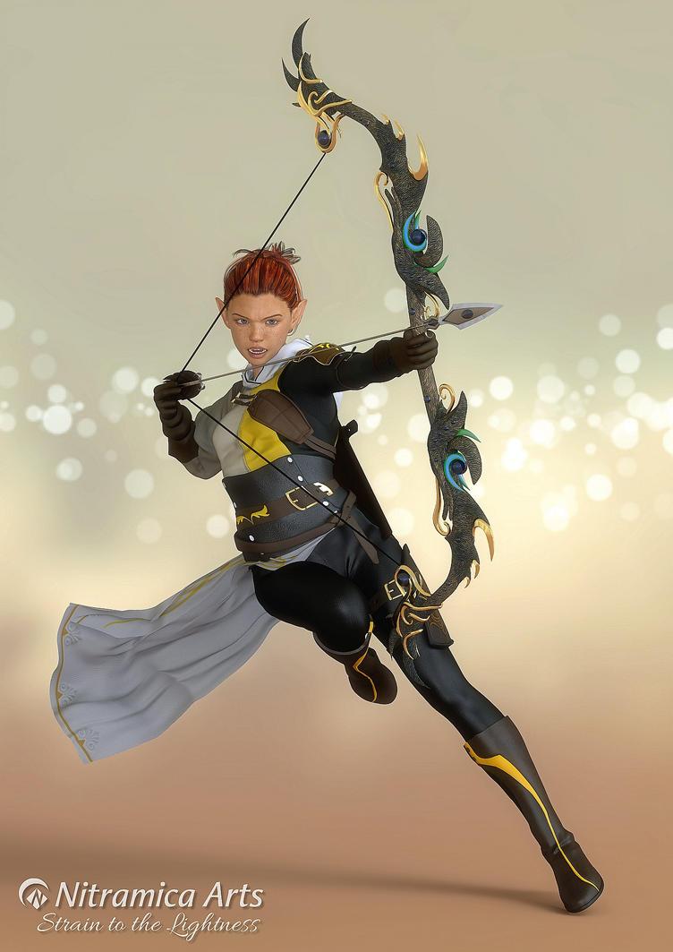 Elven Ranger by OfTheDunes