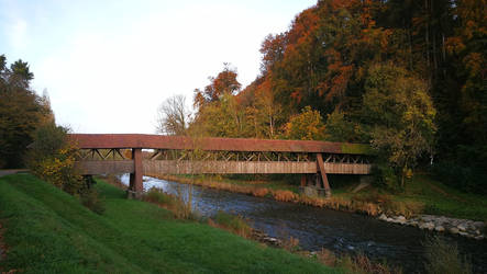 Wutach Covered Bridge 2