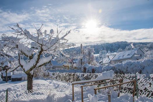 Snow in Klettgau