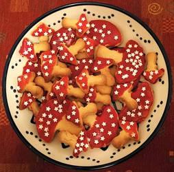 Amanita Cookies
