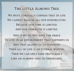 The Little Almond Tree - Poem