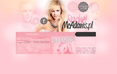 Rachel McAdams Layout