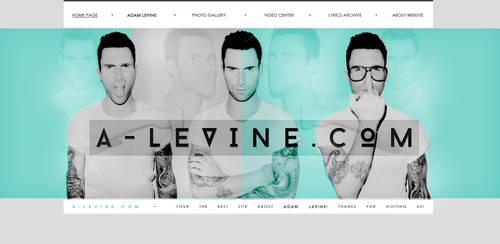 Adam Levine - Layout