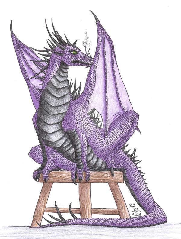 Jez Dragon by Scellanis