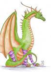 The Stripy Sock Dragon