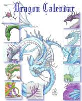Dragon Calendar by Scellanis