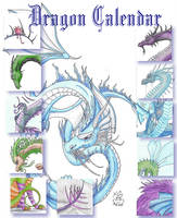 Dragon Calendar by Scellanis