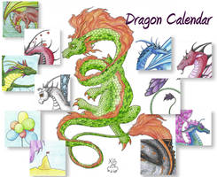 Dragon Calendar 2 by Scellanis