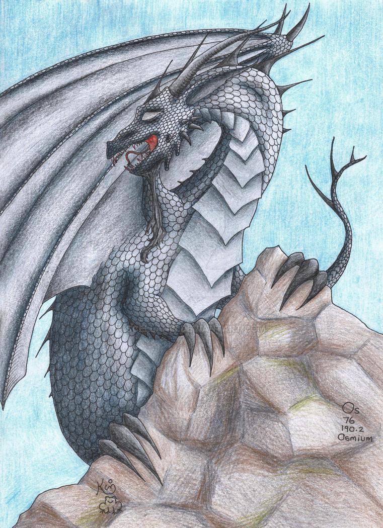 Osmium Dragon by Scellanis
