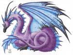 Pretty Purple Dragon