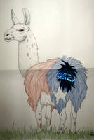 Pin the tail on the Llama by Scellanis