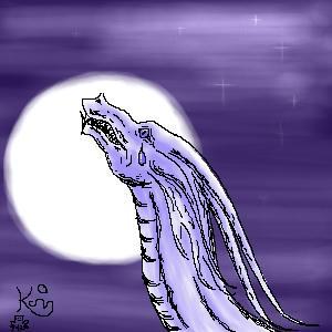 Sad Dragon by Scellanis