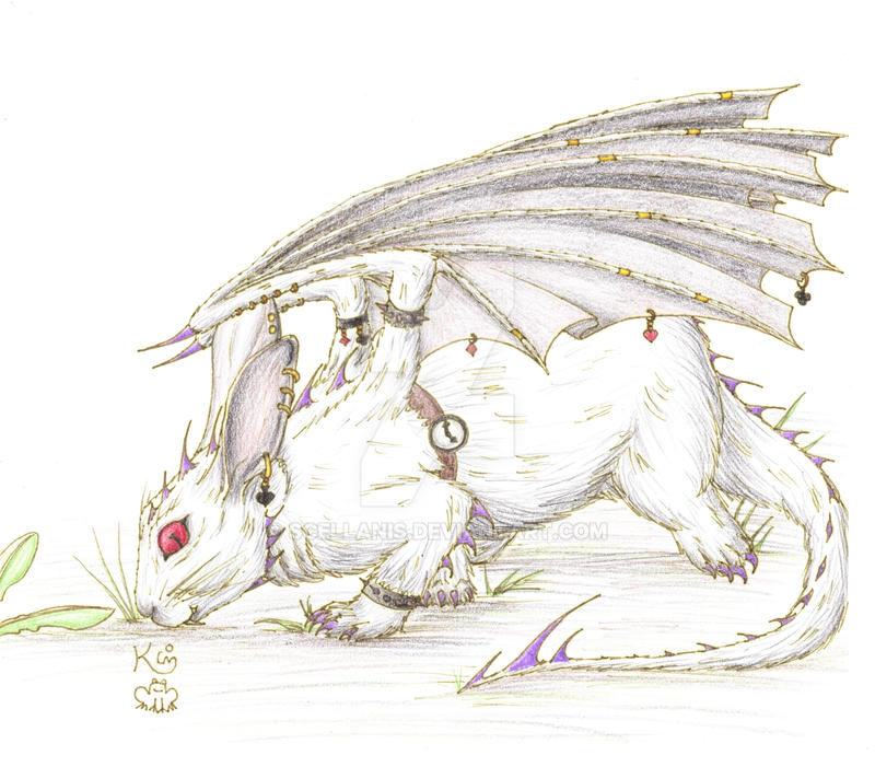 White rabbit dragon by scellanis on deviantart white rabbit dragon by scellanis thecheapjerseys Gallery