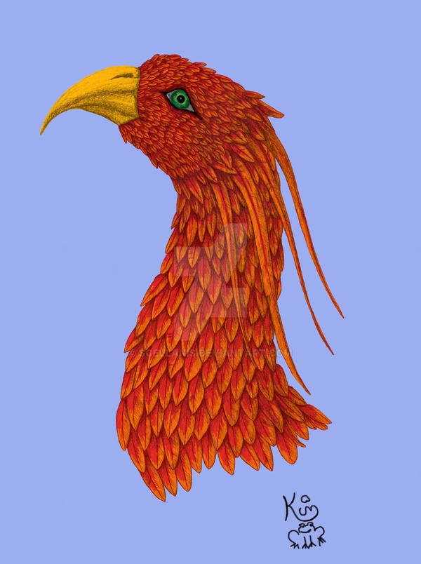 Strange Bird coloured by Scellanis