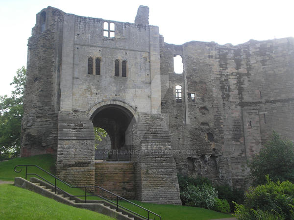 Newark Castle again by Scellanis