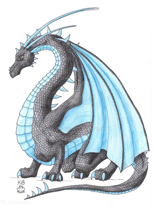 4994 Pageview Dragon by Scellanis