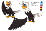 Alfred Eagle by DakotaTheShiba