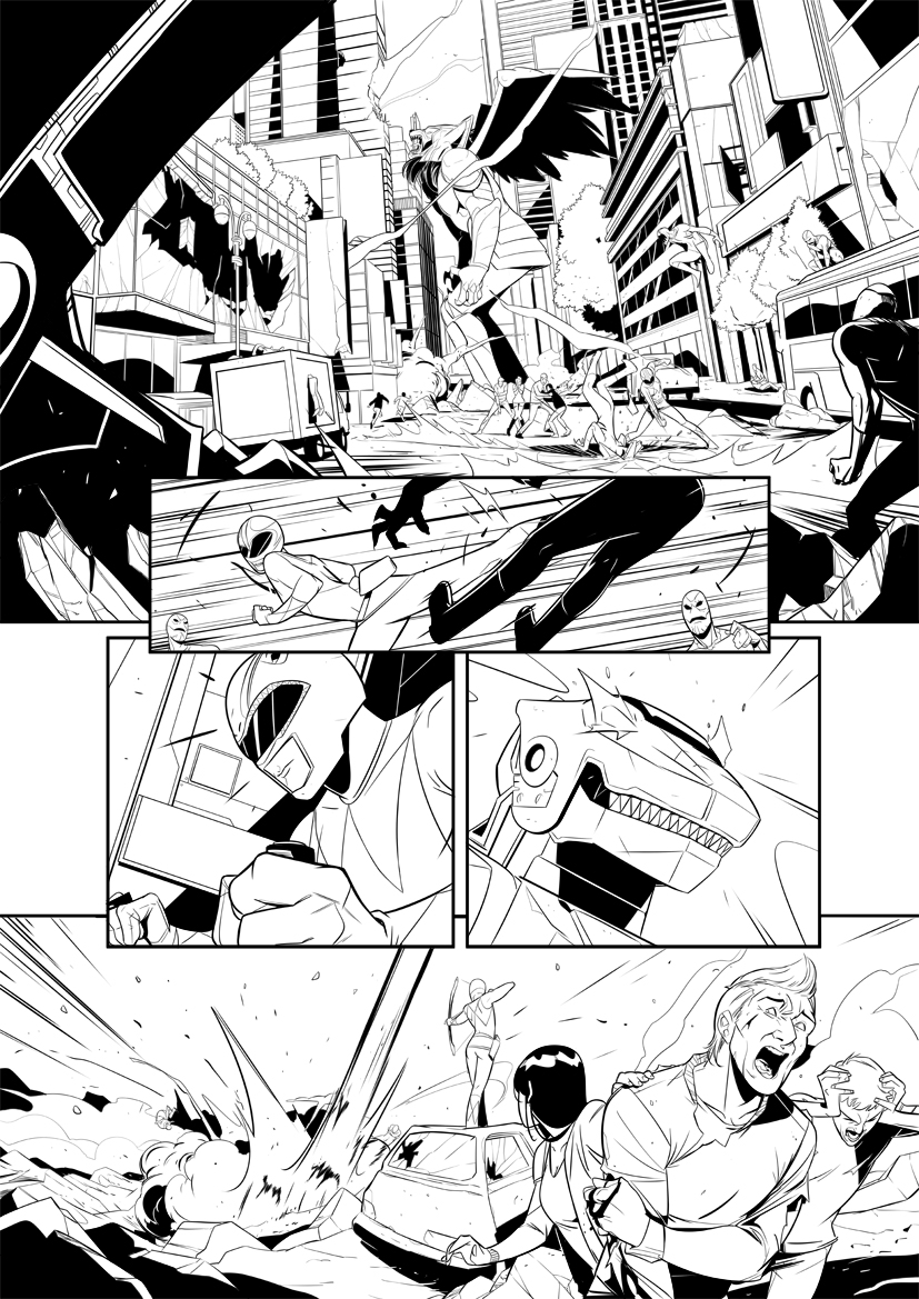 Mighty Morphin Power Rangers test page 2