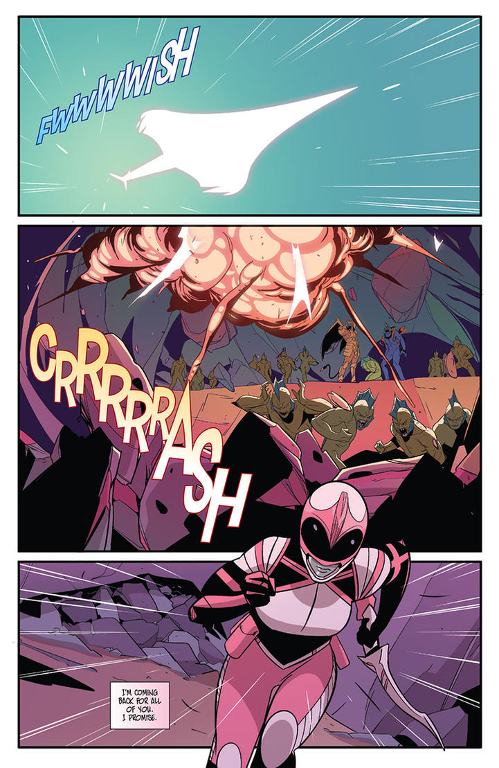 MMPR: Pink #2 - pages 3 by KoT4