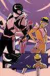 All New Black and Yellow Rangers from MMPR: Pink#2