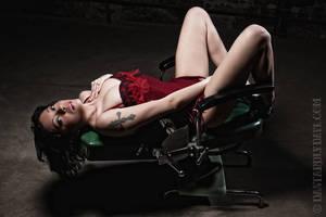 Amiria on the Dentist's Chair by DastardlyDave