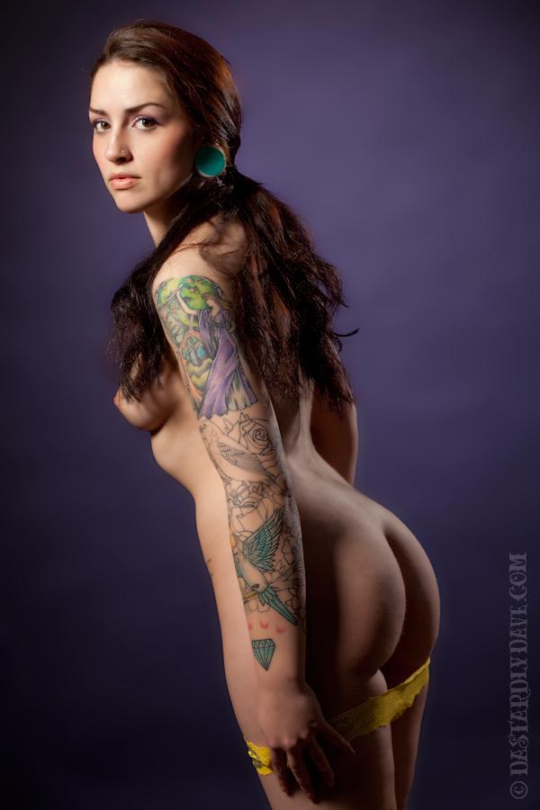 Hannah yellow panties