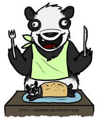 Derp Panda 4 - Hot Pocket by Jarjarrr