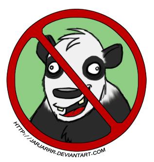 Derp Panda 7 - Pandas Suck by Jarjarrr